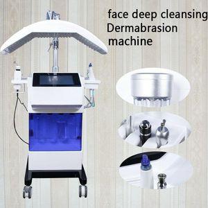 Hydra Face Machine Diamond Microdermabrasion Hydrafacial Machine Pistola a spruzzo Hydro Peel Water Dermabrasion Facial Skin Care