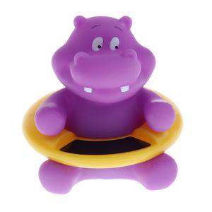 Baby Temperature Water Bath Thermometer Duck Hippo Crocodile Bath Tester Toy