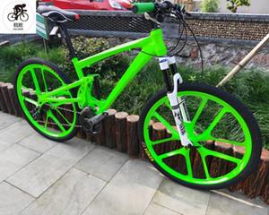 Kalosse 전체 서스펜션 유압 브레이크 산악 자전거 산악 자전거 27X1.95 인치 자전거 27speed