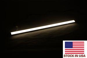 USA Stock 30CM 220 V purification Tube lampe LED Batten luminaire lampe plafond suspendu Lumière pour Garage Commerce Bureau Sous-sol du marché