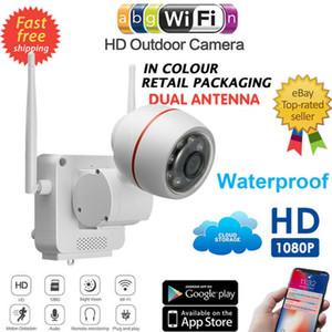 Wasserdichte 1080P HD drahtlose IP-Überwachungskamera im Freien Startseite Smart Wi-Fi-Monitor