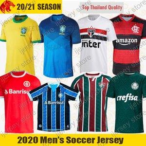 2020 Flamengo Camisas de Futebol Cruzeiro 20 21 São Paulo BRASIL Camisa de Futebol COUTINHO Fluminense Santos Palmeiras SC Internacional Camisa Corinthians
