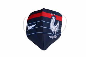 2020 Real Madrid Fußball-Maske Baumwolle nachhaltige Nutzung austauschbare Einwegmasken Großhandel Fußballmannschaft Club Protect Fußball Maske flamengo