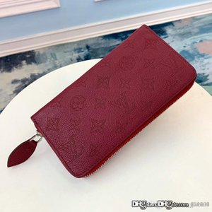 New Women ZIPPY WALLET Women's Long Wallet M61867 M58878 Fashion Casual Top Quality Size 19 * 10 * 2cm With Box*