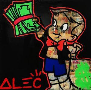 Alec Monopoly Banksy Graffiti Home Decor Top Artigianato / HD Stampa della pittura a olio su tela di canapa di arte della parete della tela di canapa Immagini 020.310