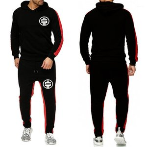 Designer Fatos Primavera Outono 2pcs Casual Esportes ternos Hoodies Calças Define Mens Nipsey Hussle todo o dinheiro