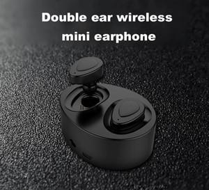 K2 TWS Gemelos Auriculares Mini Bluetooth Auriculares Inalámbricos Auriculares Estéreo Auriculares Deporte En el oído Auricular con caja de carga DHL gratis
