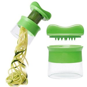 Handheld Vegetable Spiralizer Rallador Herramientas de cocina Vegetable Slicer Shredder Peeler Cutter Vegetable Grater Accesorios de Cocina BH1888 CY