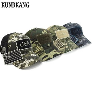 4Pcs Lot High Quality Usa Flag Camouflage Baseball Cap For Men Snapback Hat Bone Patch Army Cap Trucker Gorras Vip Dropshipping ZesCl