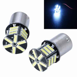 2PCS LED bulbs 1156 7020 21smd 3W 12V Motorcycle Turn Signal Light Reverse Lamp 6000k Car Brake Lamps