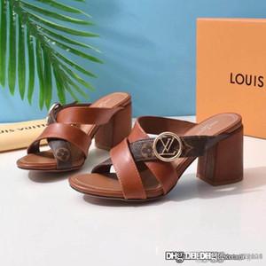 Le nuove donne HORIZON MULE 1A5BZO scarpe firmate di lusso dei sandali delle donne di modo casuali di qualità superiore Dimensione 35-42 con box