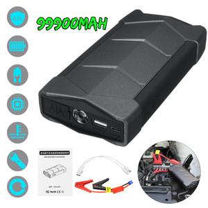 99900mAh 12V Car Ir para iniciantes impulsionador LCD USB carregador de bateria de telefone Power Bank Car Battery Booster dispositivo de arranque