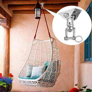 Hammock Swing Chair Hanging Kit Stainless Steel Swivel Hook Ceiling Mount