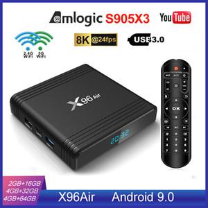 NUOVO X96 Air S905X3 Android 9.0 TV Box 4GB 32GB 2.4G + 5.0G WIFI meglio di X96 Mini Mini TX3