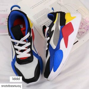 New Kids Shoes RS-X RS Reinvention Shoes Rs RS X Trainers Boys Girls Baby Sneakers Pour Enfants Sports Children Chaussures Size 28-35