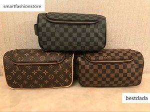 women design cosmetic bags double zipper luxury travelling toilet bag fashion famous wash bag makeup toiletry purse Pouch6
