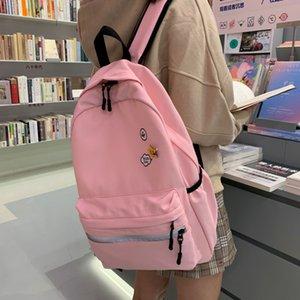iQr0T Schoolbag Harajuku ulzzang Mori girl Middle School high-capacity 2020 Schoolbag Harajuku backpack ulzzang Mori girl Middle School high
