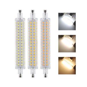 Corn Bulb J118 118MM Base R7S LED Light 3014 SMD, Corn Bulb Replacement Halogen 15W, CA220V Cold White LD1254