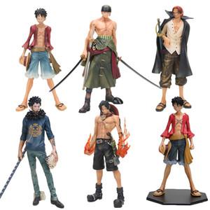 One Piece Maymun D Luffy shanks sonra 2 yıl Trafalgar hukuk ACE Zoro Usta Yıldız Parça MSP PVC Action Figure oyuncaklar
