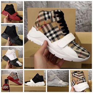 ¡Con la caja! Para hombre o mujer Zapatos casuales Zapatillas de deporte Zapatillas Sandalias Zapatillas Las mejores zapatillas planas blancas DHL gratis por shoe06 bbl2102