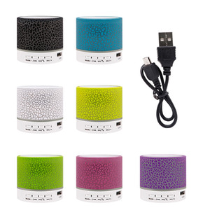 2020 Bluetooth Hoparlör A9 stereo mini Hoparlörler portatif mavi diş Subwoofer Subwoofer müzik usb çalar laptop Konuşmacı bluetooth