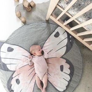 90CM Creative Elephant Design Baby Play Mat Round Carpet Cotton Animal Playmat Newborn Infant Crawling Blanket Kids Room Decor