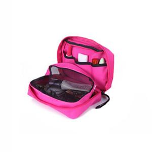 2019 Travel Mate Bag Kosmetiktaschen Aufbewahrungstasche Geldbörse Reise Kosmetiktasche Organizer Handtasche Nylon Dual Zipper Make-up Taschen