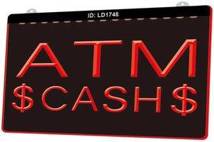 수요에 LD1748 ATM 현금 새로운 3D 조각 LED 라이트 로그인 사용자 지정 여러 색