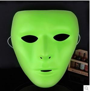 Erkekler ve Kadınlar için Halloween Parlak Yüz Maskesi Hip-Hop GHOST DANS Jabbawockeez Maskesi