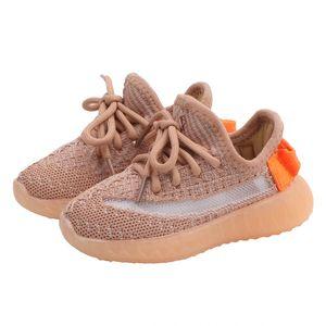 Nouvelle Automne Enfants lumineux Sole Chaussures unisexe enfant en bas âge Garçons Filles Chaussures maille respirante Mode enfants Souliers