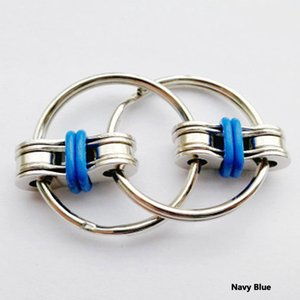 1PC Children's toy Chain Fidget Toy Hands Spinner Key Ring Sensory Toys Stress Relieve ADHD Top