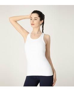 Lu-2 Sommer-dünne Yoga-Weste-Frauen lange Ärmel Einfach Sexy All-Gleiches Stretch Trainings-Kleidung Hosen Mädchen-Frauen kleiden plus Größe