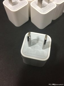 1:1 Original OEM Real 1A USB US Wall Plug AC Power Adapter Travel Cube Charger A1385 For iphone5 i 5 6 7 8 X XS Max Plus iphone6 iphone7