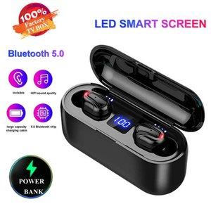 1 PCS Q32 - 1 TWS Headset Ture Wireless Eir Phonies Bluetooth 5.0 Headset With Mic Mini Bluetooth Earbuds Cordless Earphone Power Power Display