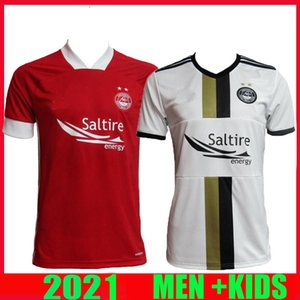 Tayland 2020 2021 Aberdeen FC Futbol Formalar yetişkin ev Wilson 20 21 Aberdeen FC McGinn'in futbol Gömlek Ana McKenna futbol üniforma kırmızı