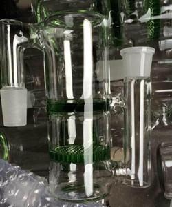 moins cher Glass Ash Catcher bong pipe à eau miel peigne Perk Narguilé verre pipe miel peigne et Perk verre cendrier Catcher vert ou bleu