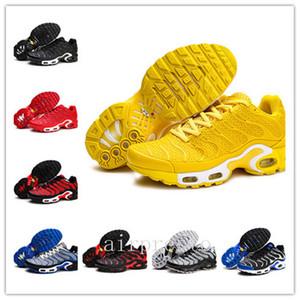 Büyük Artı Boyutu 40-47 TN Koşu Ayakkabıları Erkekler Için Nefes TN KPU Chaussure Beyaz Siyah Atletik Açık Sneakers Spor Eğitmenleri
