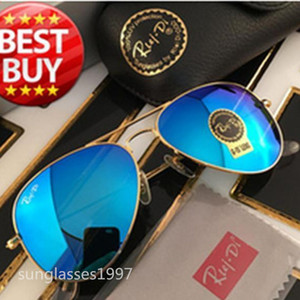 Hot nova óculos de sol de praia dos homens e mulheres do designer óculos de sol TOSWRDPAR marca óculos de protecção UV400 óculos de sol caixa e caixa marrom