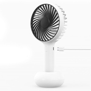 Speed Adjustable Travel Office Portable Powerful Summer USB Fan Home Rechargeable Handhold Gift Silent Natural Cooling