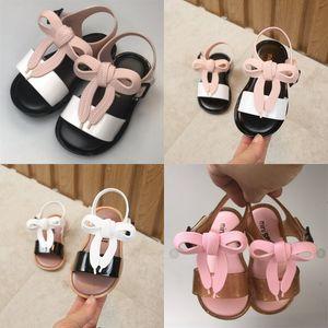 Fille Jelly Lace Bow Sandals Enfants Bow Jelly Sandals Princesse Summer Bows Sandales Jelly Sandales Enfants Designer Beach Shoes