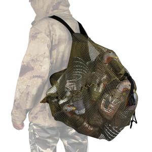 Outdoor Caça malha Decoy Saco com Shoulder Straps Duck Goose Turquia Decoy Mochila