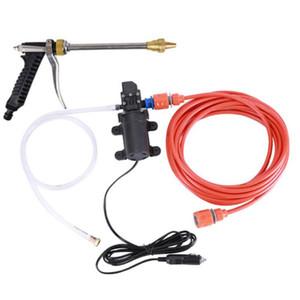 Portatile dimensione del dispositivo di lavaggio della pompa singola auto pompa ad alta pressione domestica Car Washing Machine Gun Acqua spazzolatura