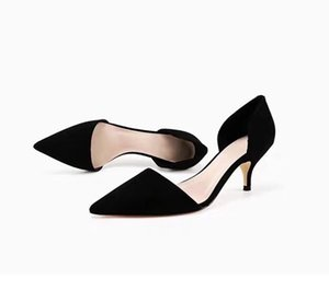 C new K Ladies fashion shoes Dress sandals Hollow Fine heel Fashion professional shoes get together Dinner Wedding shoes A36