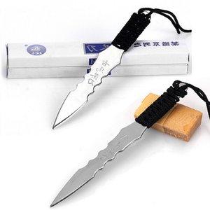 vente chaude Puerh thé couteau insert métallique en acier inoxydable conisation Puer aiguille à thé épaississement thé noir Puer couteau