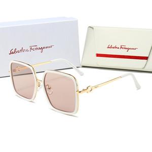 Salvatore Ferragamo 1218 erkekler için tasarımcı güneş gözlüğü kadınlar için erkekler güneş gözlüğü G0152S womens güneş gözlüğü erkek tasarımcı kaplama UV koruması moda dışarı