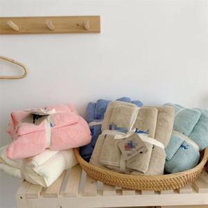 2020 Lettre Champion Towel Set Serviettes de bain Terry Designer Miami Draps main-serviettes de bain + Bale Set pour adultes bébé Serviettes de plage 70 * 140,35 * 75cm