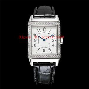 Top Diamant Reverso Q2788520 Uhr Luxusuhr Schweizer Automatik 21.600 VPH Saphir-Kristall-316L Edelstahl-transparenter Gehäuseboden