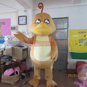 costume de mascotte de canard Livraison gratuite Taille adulte, carnaval en peluche costume mascotte Duck Brown film d 'animation ventes classique de dessin animé usine mascotte