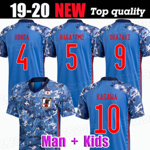 2019 2020 Japan home soccer jersey national team ATOM KAGAWA ENDO OKAZAKI NAGATOMO HASEBE KAMAMOTO Adult man and kids kit football Shirt