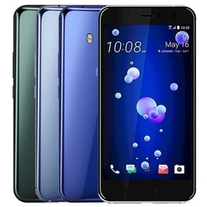 Remis à neuf d'origine HTC U11 5.5 pouces Octa de base de 4 Go / 6 Go RAM 64 Go / 128 Go ROM 12MP + 16MP débloqué 4G LTE Android Smart Phone DHL 1pcs